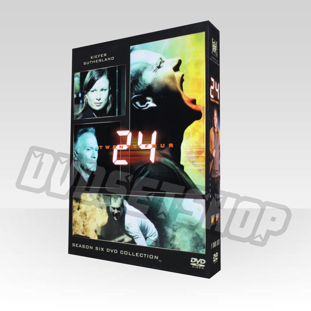 24 Hours Season 6 DVD Boxset