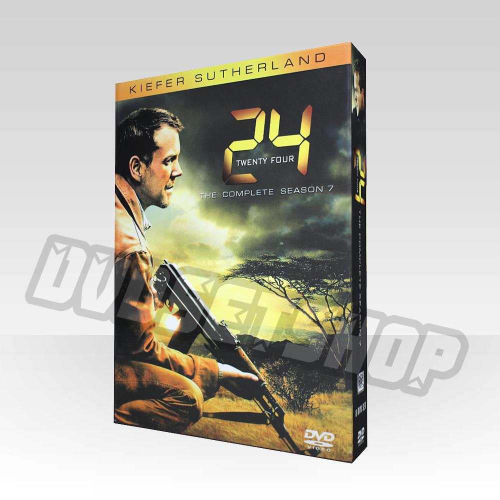 24 (Twenty-four) Season 7 DVD Boxset