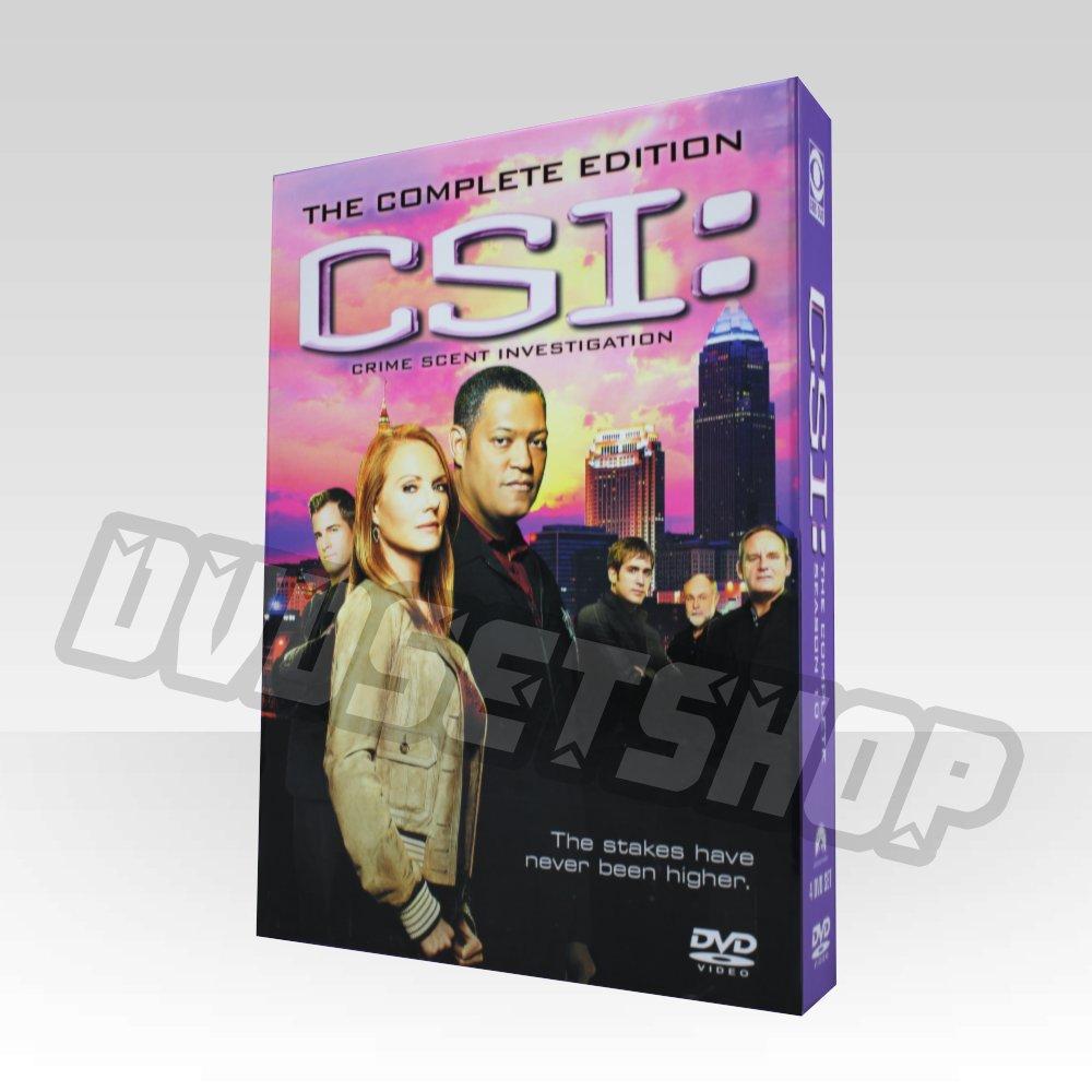 CSI Lasvegas Season 10 DVD Boxset