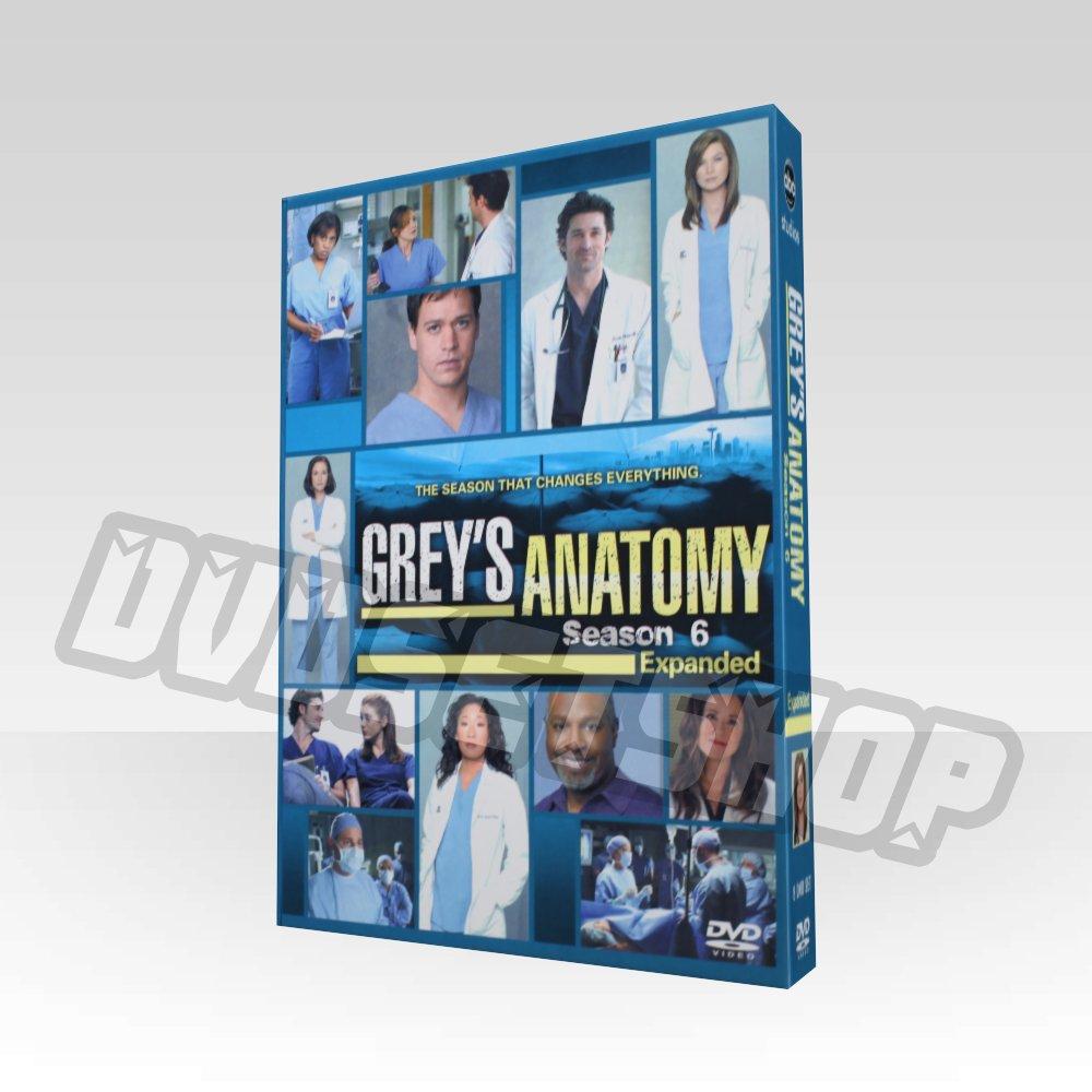 Grey's Anatomy Season 6 DVD Boxset