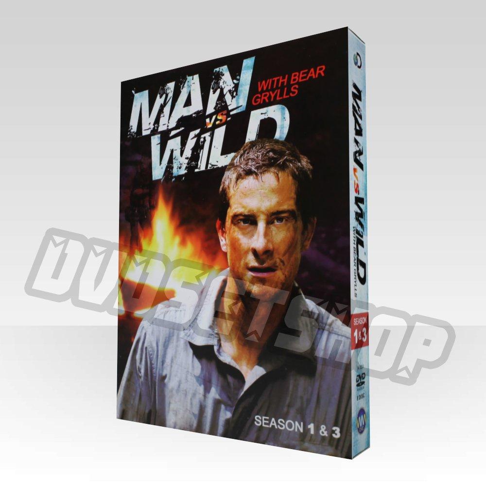Man Vs Wild Seasons 1-3 DVD Boxset