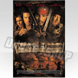 Pirates of the Caribbean [Blu-ray]