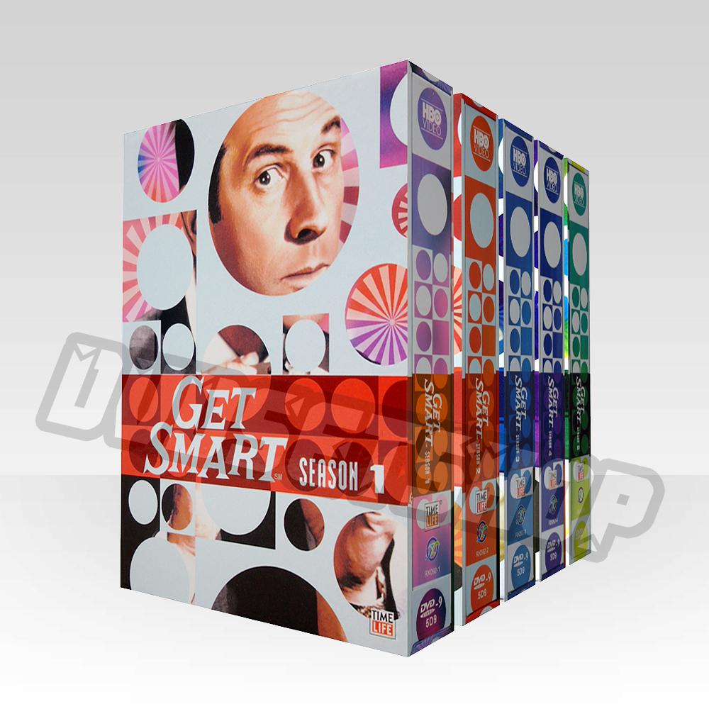 Get Smart Seasons 1-5 DVD Boxset