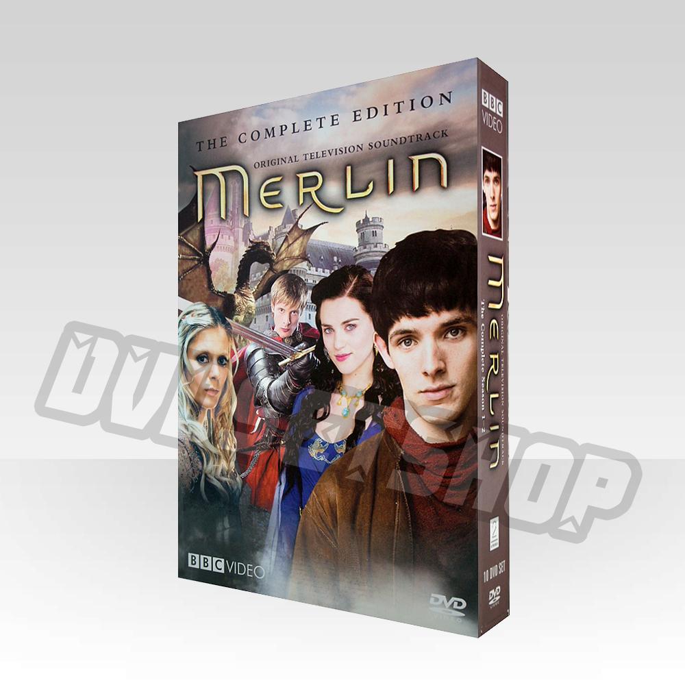Merlin Seasons 1-2 DVD Boxset