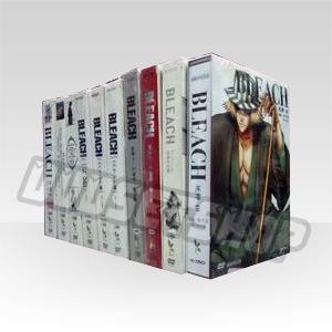 Bleach Seasons 1-10 DVD Boxset