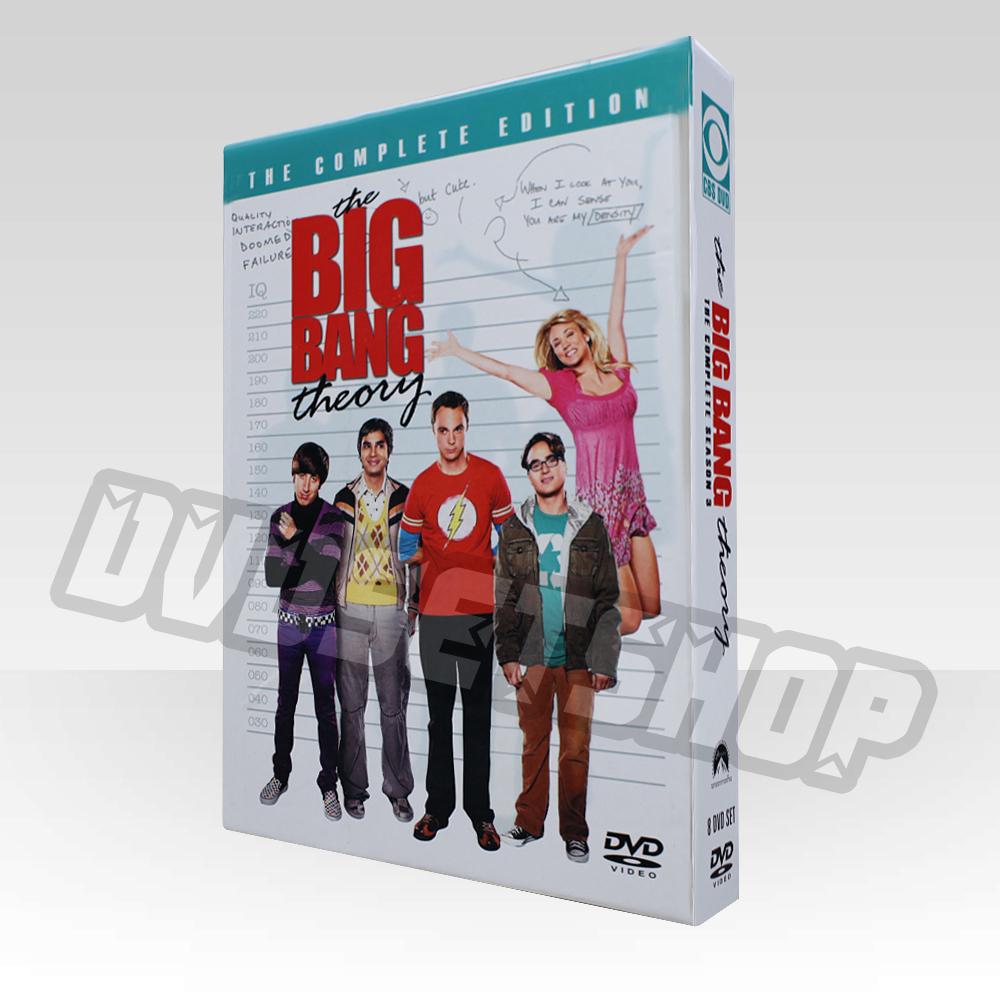 The Big Bang Theory Season 3 DVD Boxset