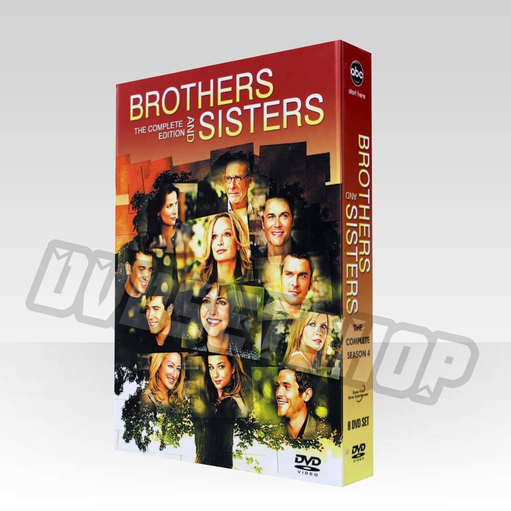 Brothers and Sisters Season 4 DVD Boxset