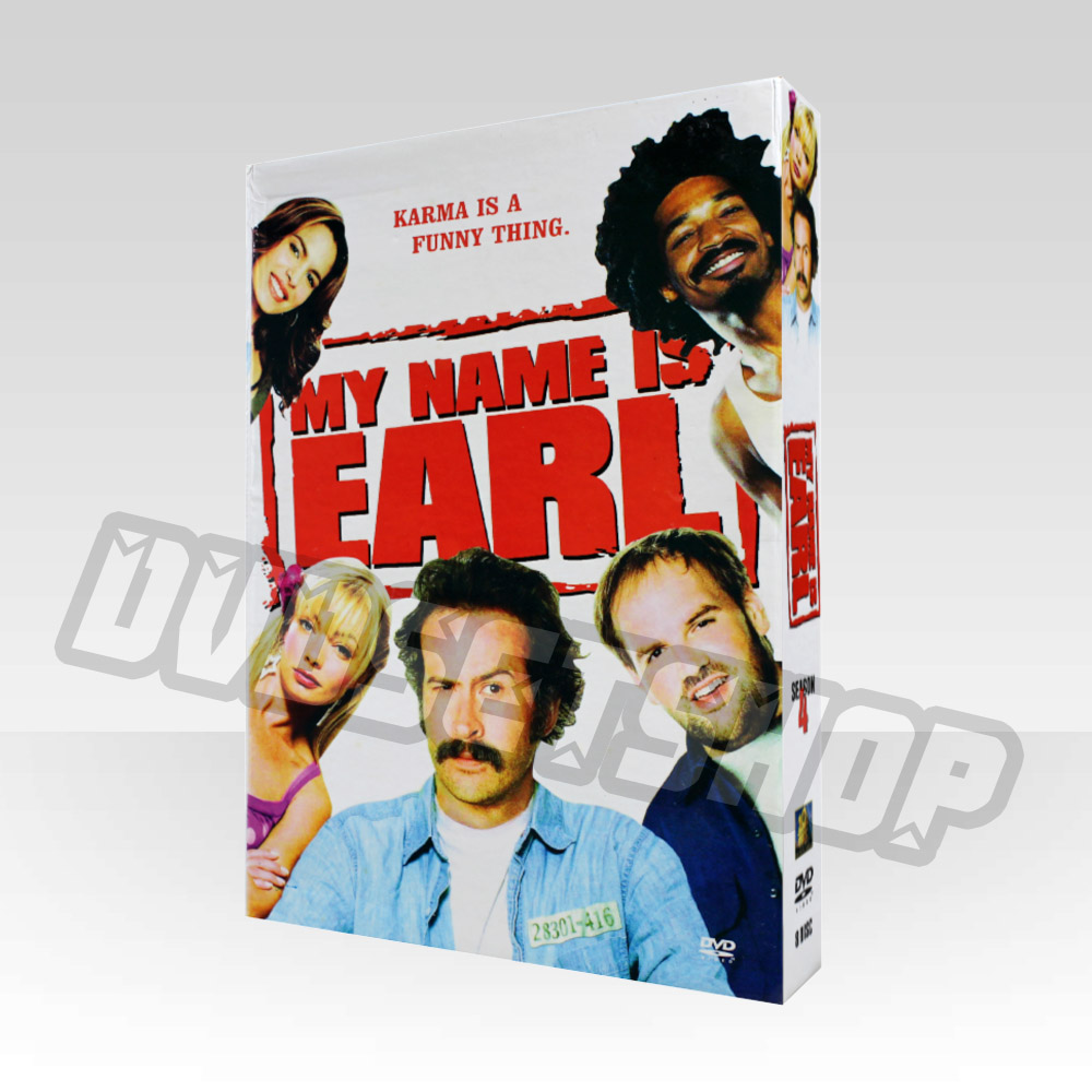 My Name Is Earl Season 4 DVD Boxset