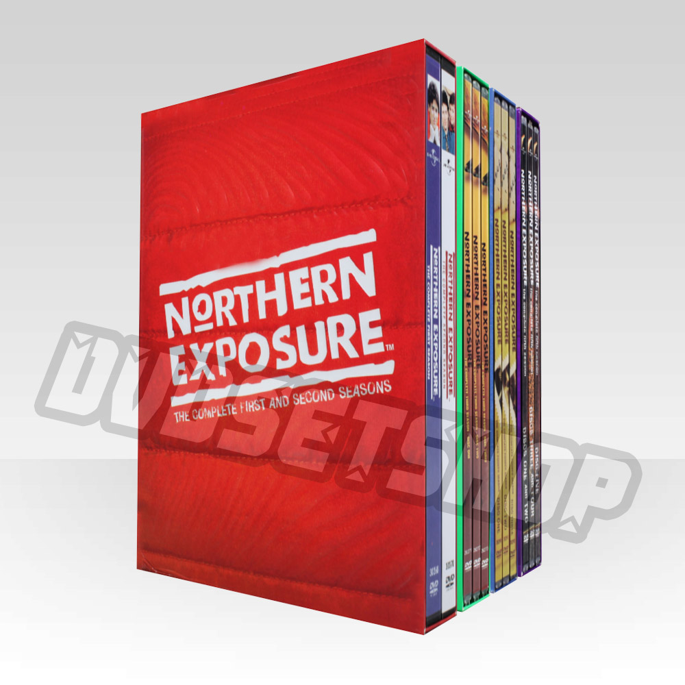 Northern Exposure Seasons 1-6 DVD Boxset