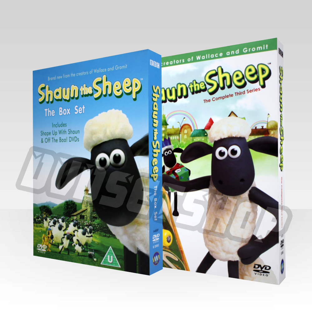 Shaun The Sheep Seasons 1-2 DVD Boxset