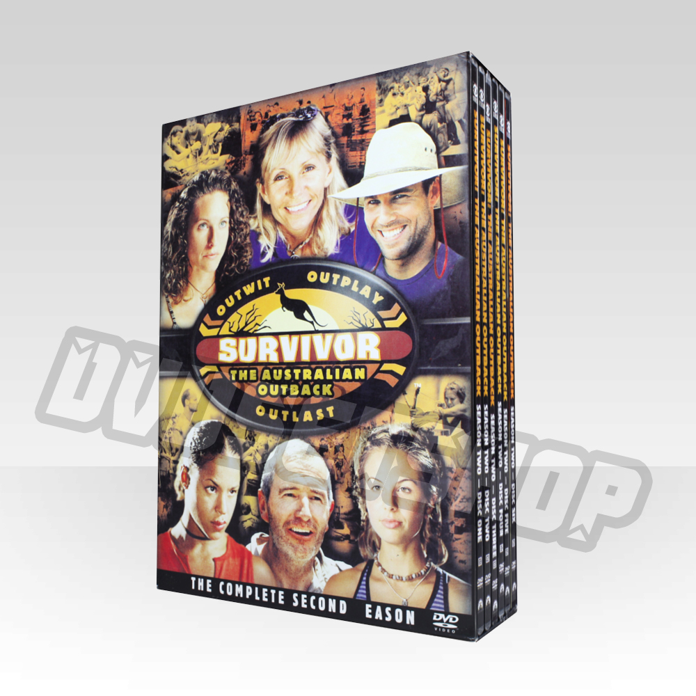 Survivor Season 2 DVD Boxset