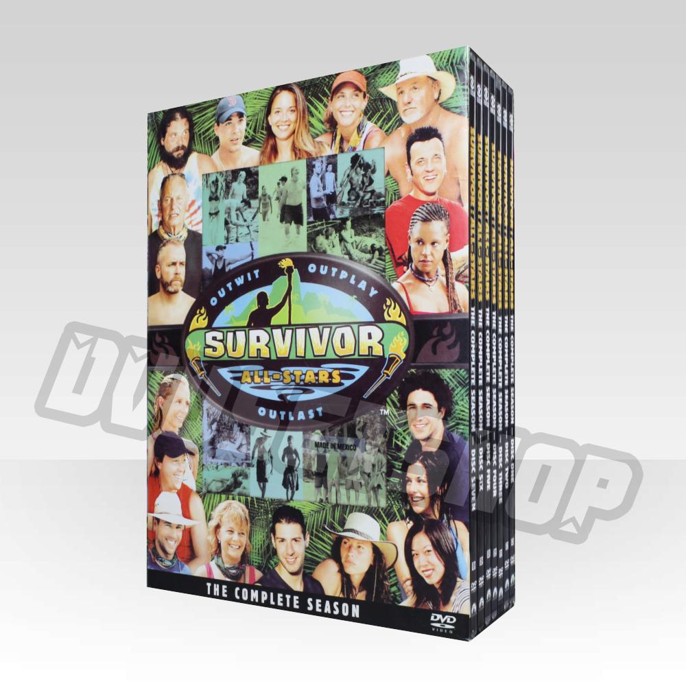 Survivor Season 8 DVD Boxset