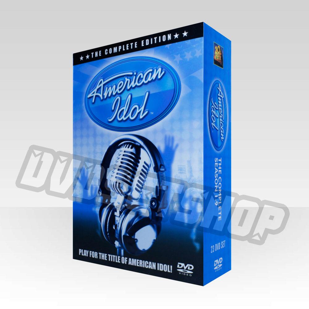 American Idol Seasons 1-9 DVD Boxset