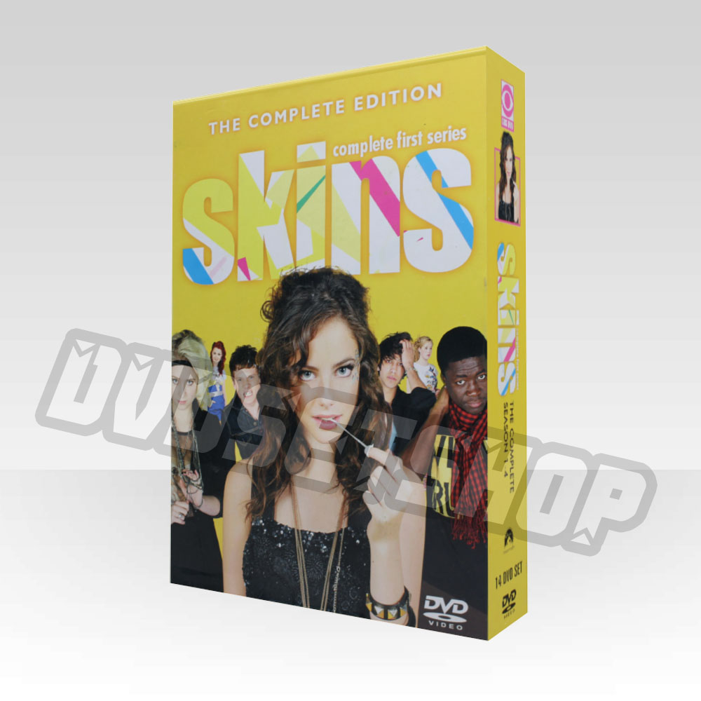 Skins Seasons 1-4 DVD Boxset