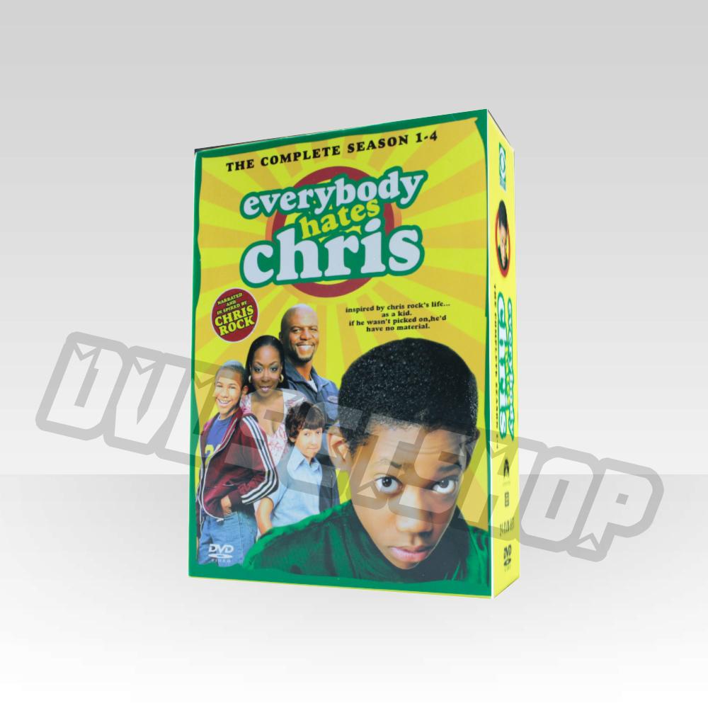 Everybody Hates Chris Seasons 1-4 DVD Boxset