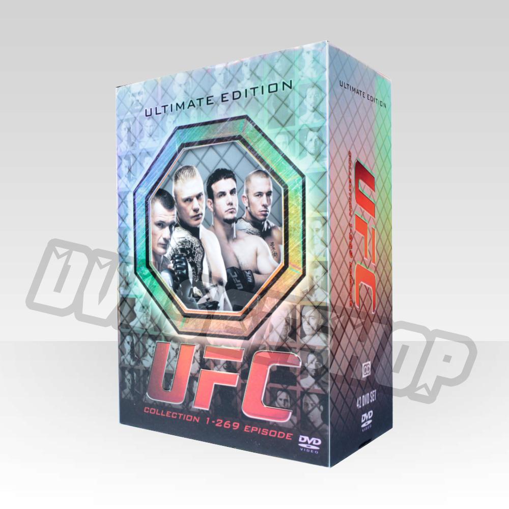 UFC(episode 1-269) DVD Boxset