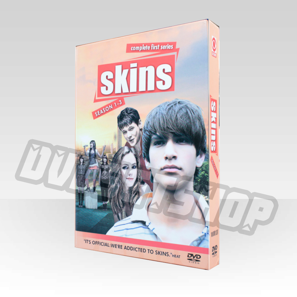 Skins Seasons 1-3 DVD Boxset