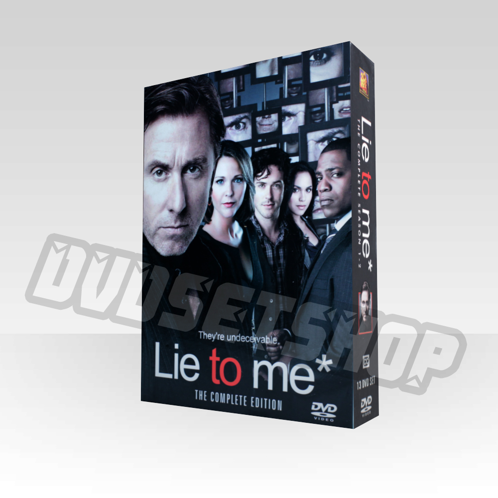 Lie to Me Seasons 1-2 DVD Boxset