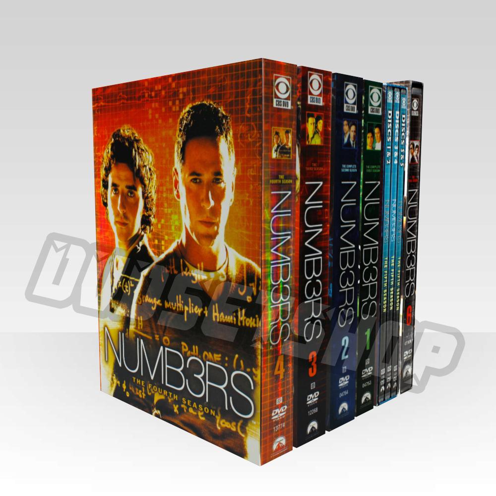Numb3rs Seasons 1-6 DVD Boxset