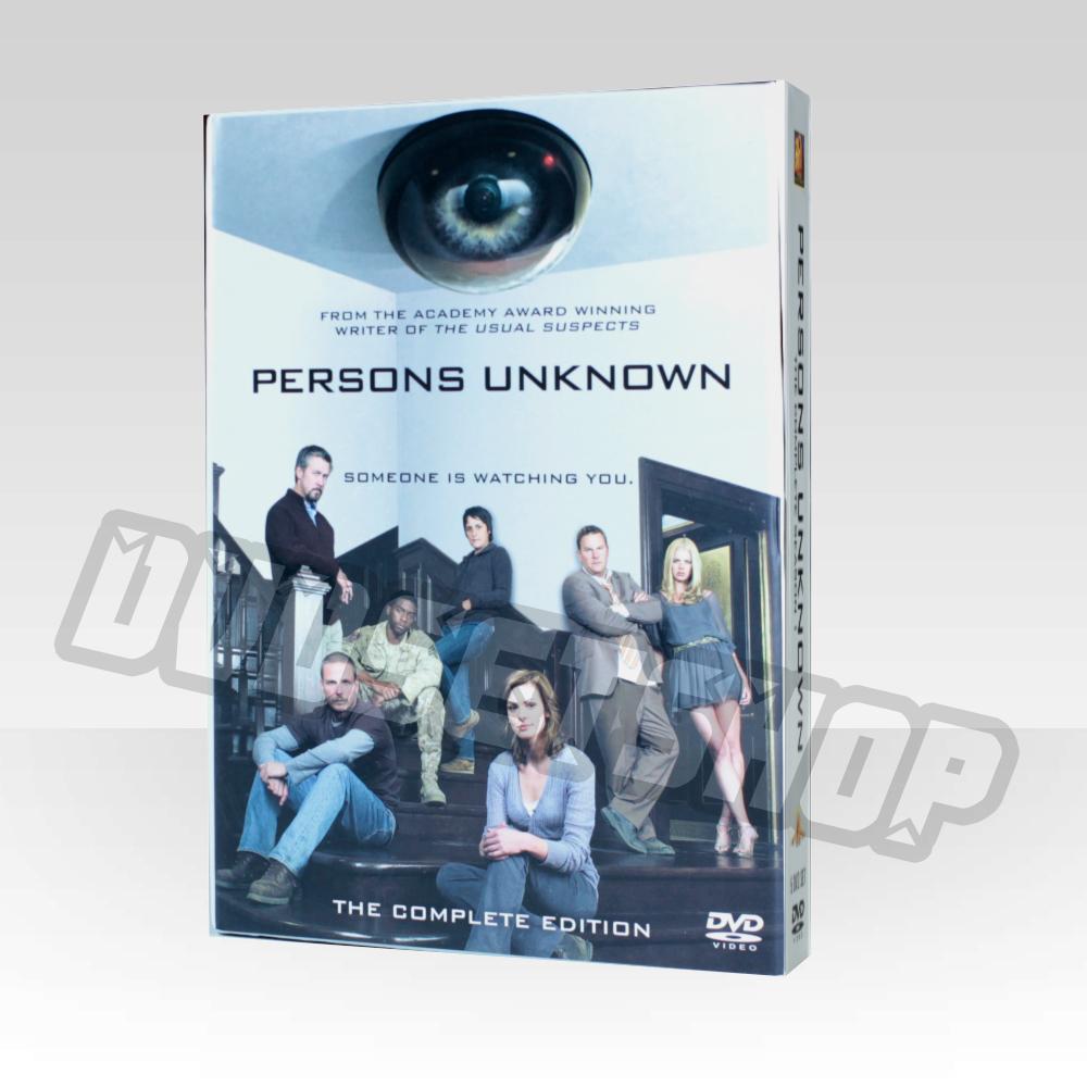 Persons Unknown Season 1 DVD Boxset