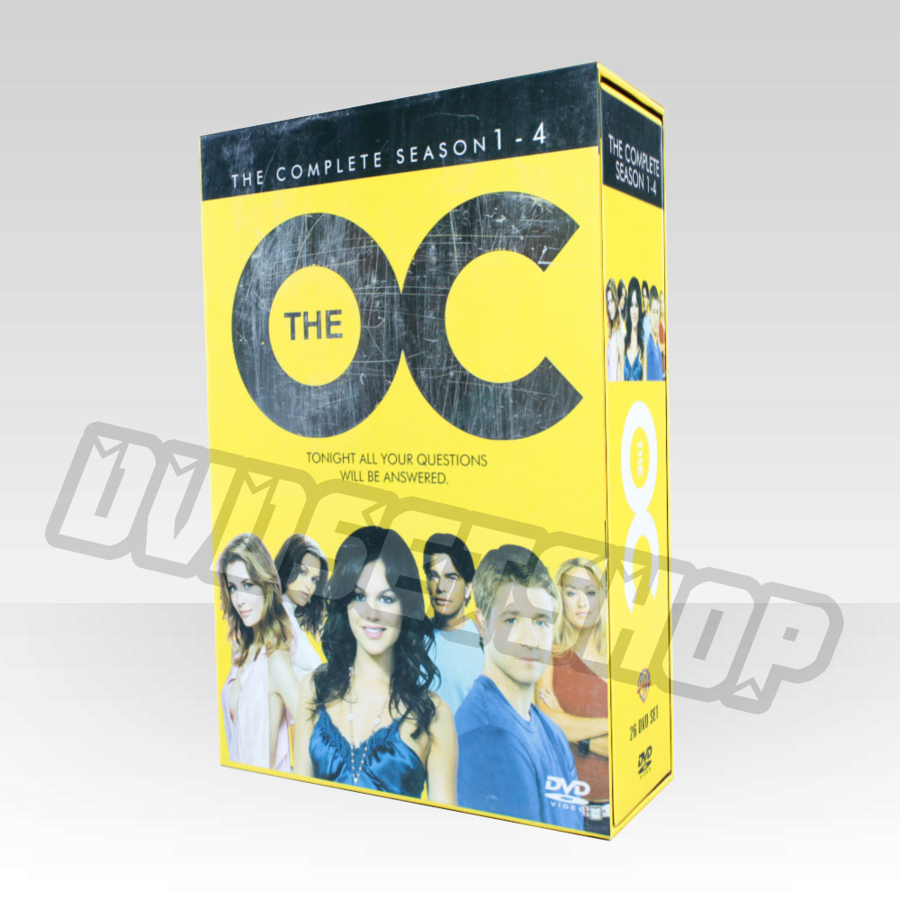 The OC Seasons 1-4 DVD Boxset