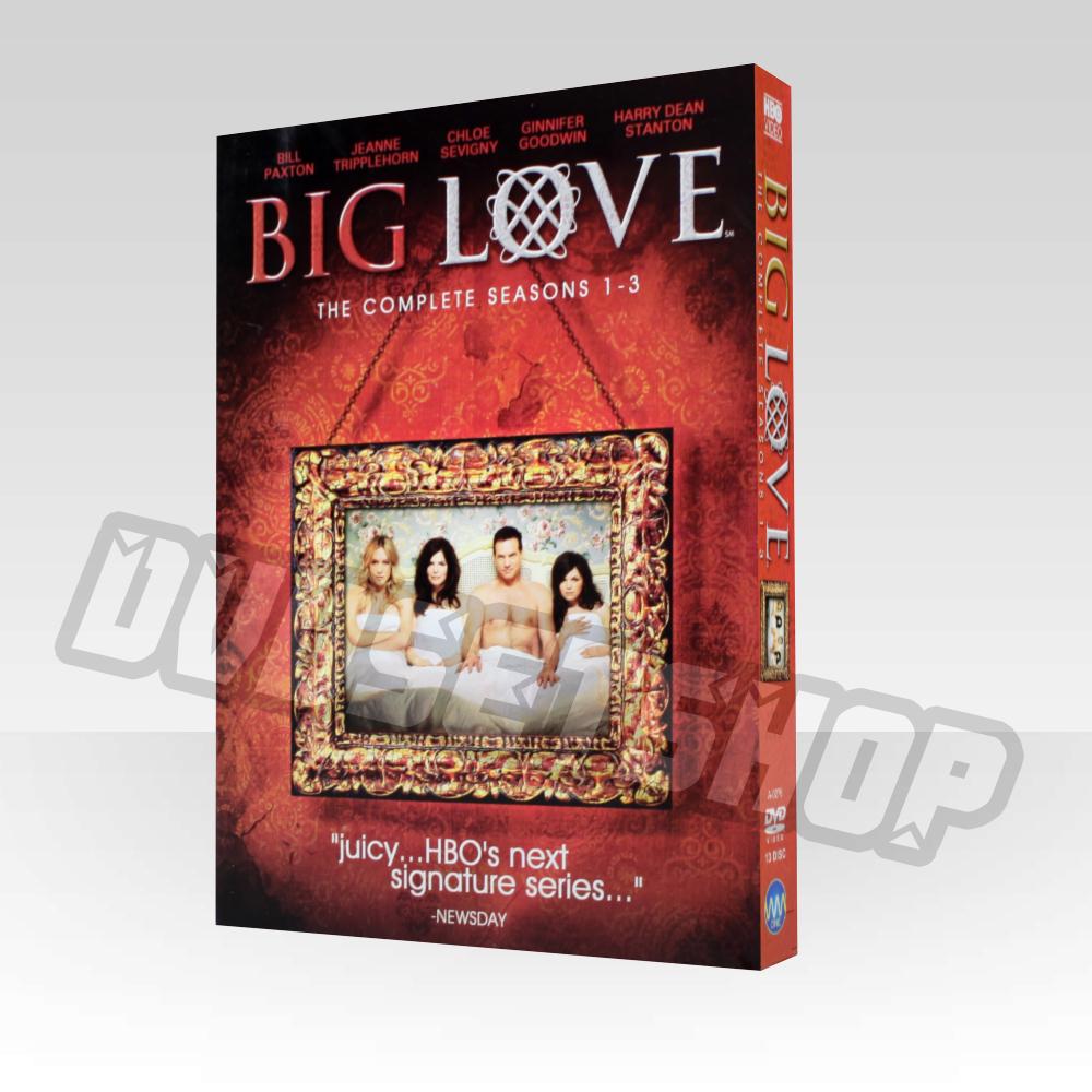 Big Love Seasons 1-3 DVD Boxset