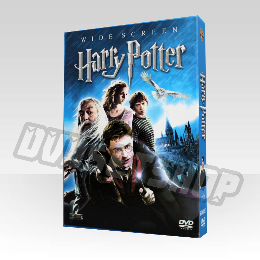 Harry potter complete series dvd boxset for Sejour complet harry potter