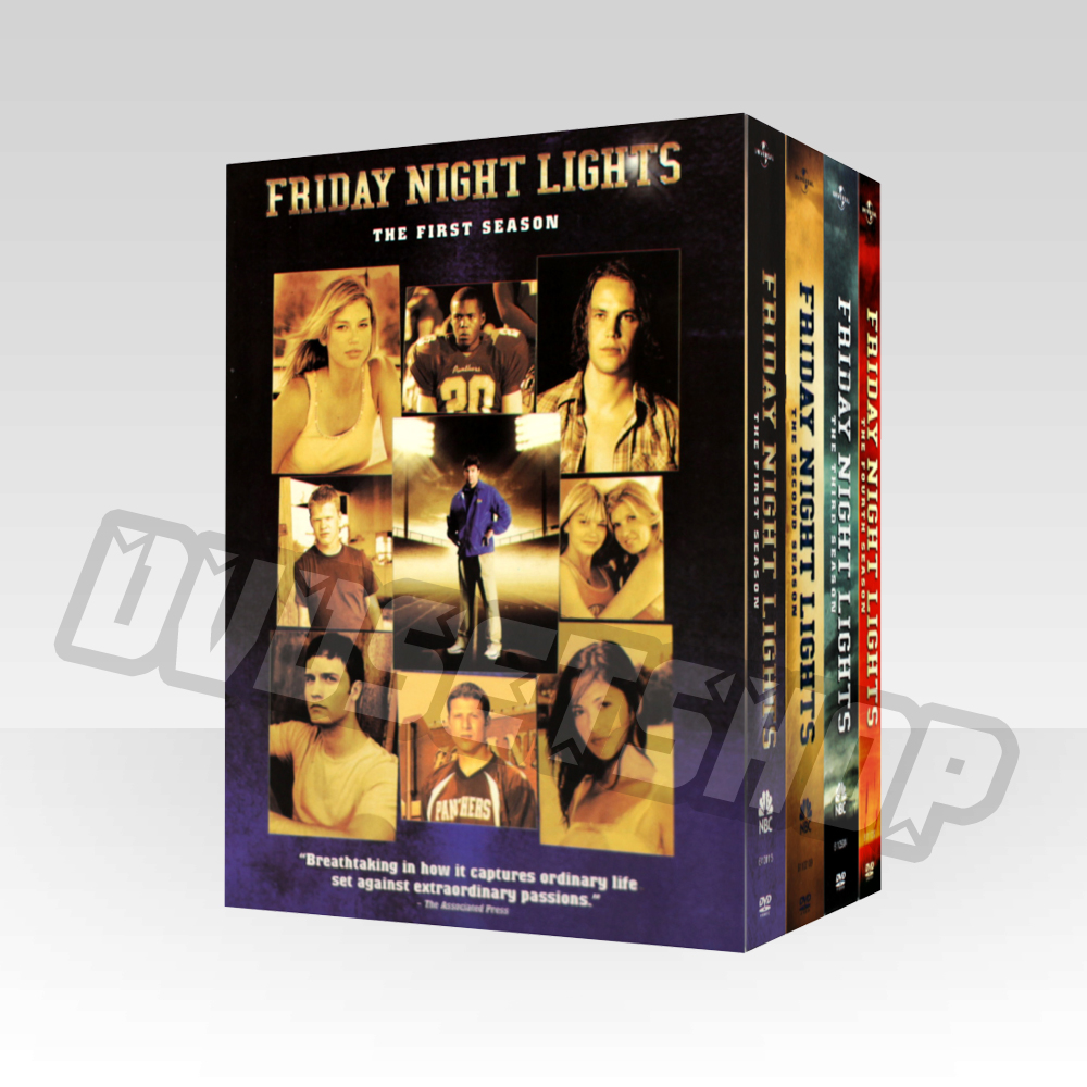 Friday Night Lights Seasons 1-4 DVD Boxset