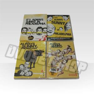 It's Always Sunny in Philadelphia Seasons 1-5 DVD Boxset