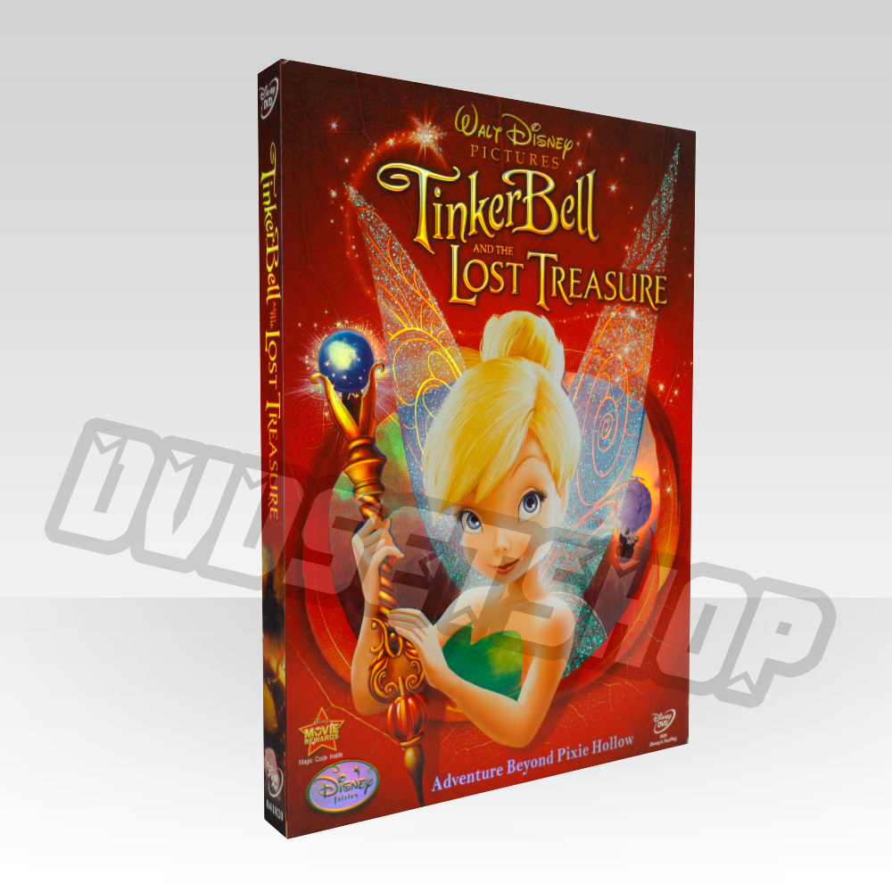 Tinker bell and the lost treasure DVD Boxset