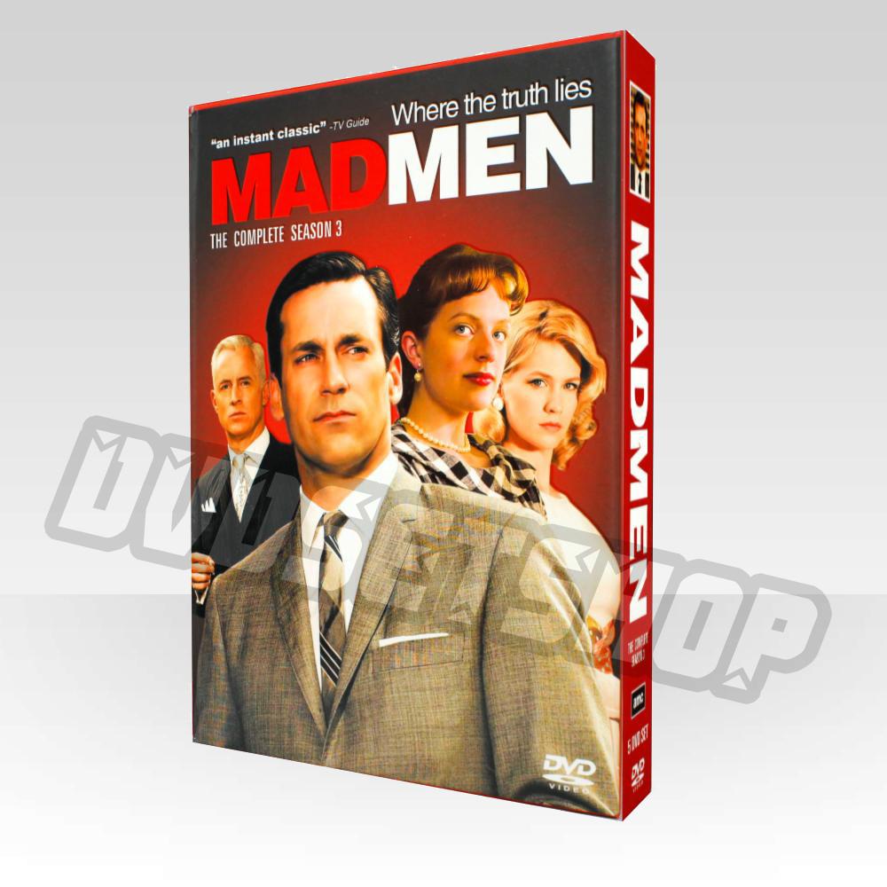 Mad Men Season 3 DVD Boxset