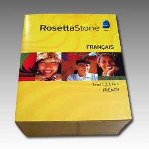 Rosetta Stone (French Language) DVD Boxset