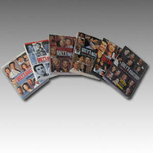 Grey's Anatomy Seasons 1-6 DVD Boxset