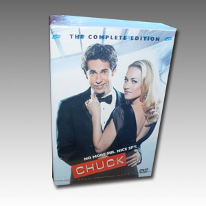 Chuck Seasons 1-4 DVD Boxset