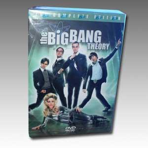 The Big Bang Theory Seasons 1-4 DVD Boxset