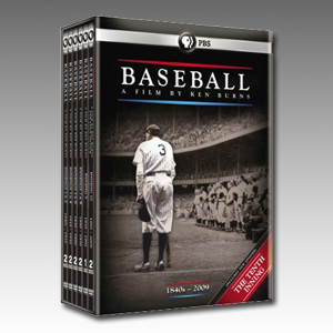 Baseball DVD Boxset