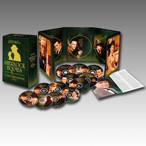 Sherlock Holmes: The Complete Granada Television Series DVD Boxset