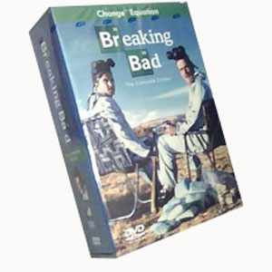 Breaking Bad Seasons 1-4 DVD Boxset