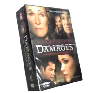 Damages Seasons 1-4 DVD Boxset