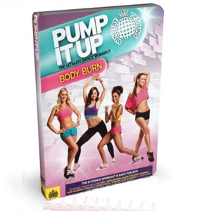 Pump It Up Body Burn Workout DVD Boxset