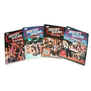 Jersey Shore Seasons 1-4 DVD Boxset