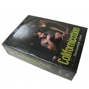 Californication Seasons 1-5 DVD Boxset