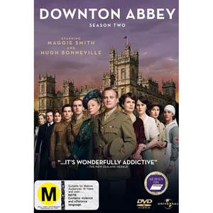 Downton Abbey Season 2 DVD Boxset