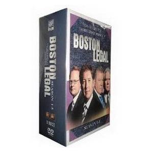 Boston Legal Seasons 1-5 DVD Boxset