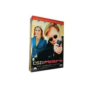CSI Miami Season 10 DVD Boxset