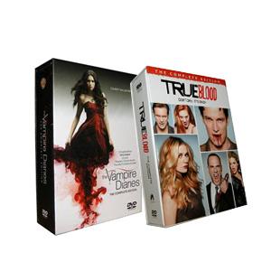 The Vampire Diaries Seasons 1-3 & True Blood Seasons 1-5 DVD Boxset