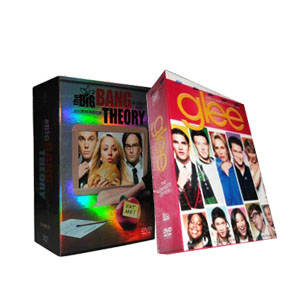 The Big Bang Theory Seasons 1-5 & Glee Seasons 1-3 DVD Boxset