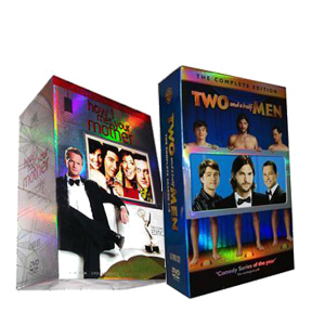 Two and a Half Men Seasons 1-9 & How I Met Your Mother Seasons 1-7 DVD Boxset