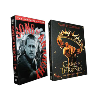 Game Of Thrones Season 2 & Sons of Anarchy Season 4 DVD Boxset