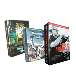 Sons of Anarchy Seasons 1-4 & Breaking Bad Seasons 1-5 DVD Boxset
